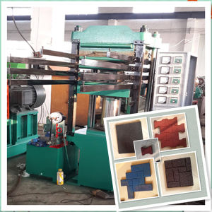 Rubber Tile Making Machine/ Rubber Bricks Molding Machine/ Rubber Ground Tile Machine pictures & photos