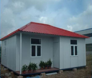 Fast Installation Prefabricated House with Rainshelter pictures & photos
