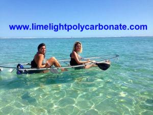 Paddling Kayak, Touring Kayak, Crystal Kayak, Clear Kayak, Transparent Kayak, Clear Canoe, Transparent Canoe, PC Kayak, Polycarbonate Kayak, Clear PC Canoe