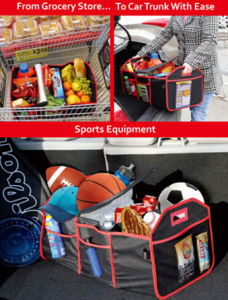 Car Boot Organizer with Cooler Bag pictures & photos