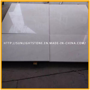 Cheap Polished Pure Snow White Marble for Floor/Flooring/Countertop pictures & photos