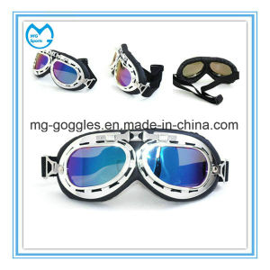 Adult Vintage Mirrored Dirt Bike Products Protective Goggles Over Glasses pictures & photos