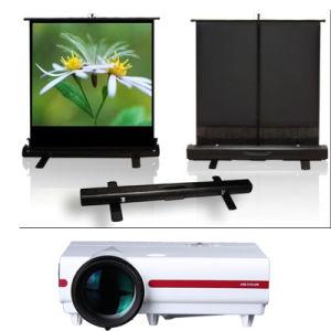 Outdoor Indoor Portable Floor Projection Screen
