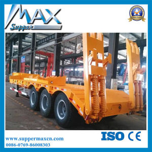 Container Flated Semi Trailer with Automatic Twist Lock pictures & photos