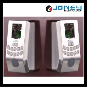 Biometric Fingerprint Password Door Lock with Keypad (JYF-HL100) pictures & photos