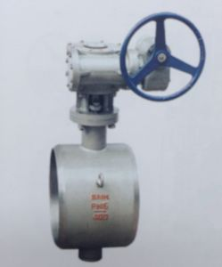Butt Weld Type Metallic Hard Sealing Butterfly Valve