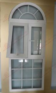 High Quality UPVC/PVC Top Hung Arched Window (BHP-WA09) pictures & photos