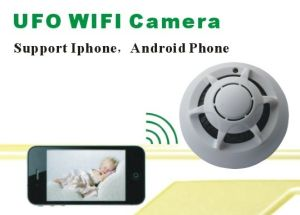 WiFi Camera P2p Smoke Detector Wireless IP Camera DVR Digital Video Recorder Monitor pictures & photos