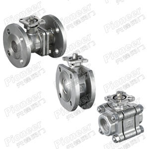 Stainless Steel Ball Valve Flanged/Threaded/Welded in Stock pictures & photos