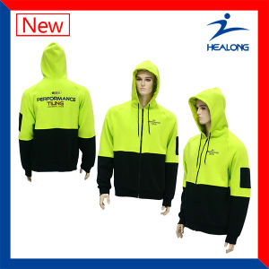 Healong Customized Cut and Sew Hoodie with High Quality pictures & photos