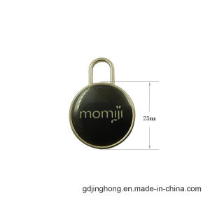 Fashion Logo Customized Polishing Zinc Alloy Hang Tag pictures & photos