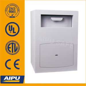 Drop Safe with Laser Cut Door and Stuv Double Bitted Key Lock (JI-532-DEP) pictures & photos