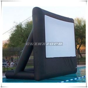 Popular Style Triangle Frame Film Inflatable Screen pictures & photos