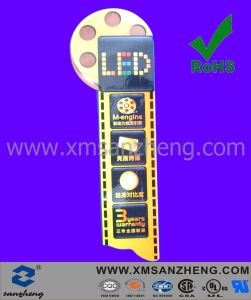 Popular Full Color Printing LED Paper Sticker (SZXY117) pictures & photos