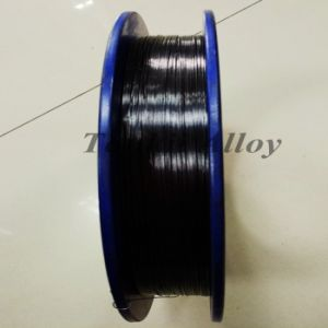 Black color 0.5mm Tungsten Wire pictures & photos