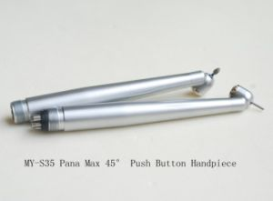 High Quality 45 Degree Dental Handpiece with Push Button Type pictures & photos