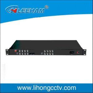 10 Digit PCM Digital Optical Transceiver of 16 Video