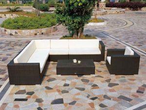 Outdoor Furniture PE Rattan Sofa Set pictures & photos
