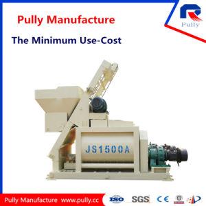 Pully Manufacture Large Cement Mixer (JS500, JS750, JS1000, JS1500) pictures & photos