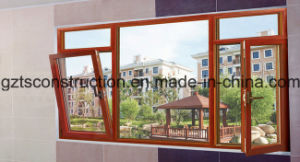Double Glazing Interior and Exterior Open Casement Window/Door pictures & photos