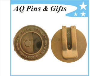 Professional Factory Metal Money Clip in Antique Plating (Golf-24) pictures & photos