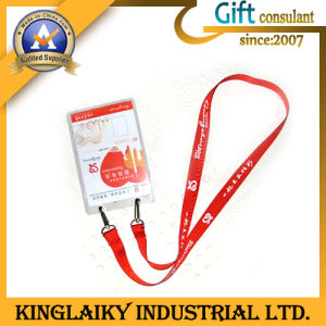 Fashionable Card Holder Strap with Printing Logo (KLD-004) pictures & photos