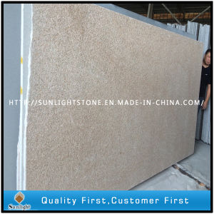 G682 Yellow Rusty Granite Slab with Flamed Surface for Tiles pictures & photos