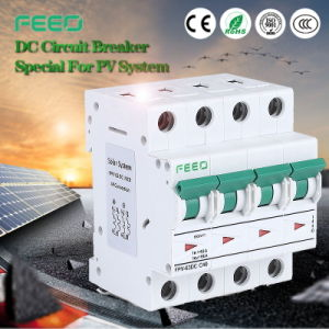 Solar Energy 250V 3p 25A DIN Rail PV System MCB Air Breaker pictures & photos