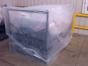 LDPE Shrinkable Big Machine Cover Bag