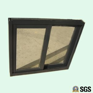 Good Quality Powder Coated Crescent Lock Aluminum Sliding Window K01024 pictures & photos