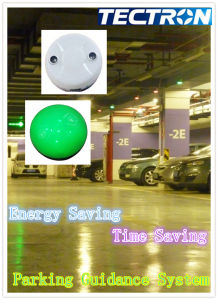 Tectron Parking Space Indicator and Ultrasonic Sensor for Looking Available Lot in Big Shopping Mall