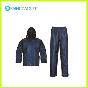 Waterproof Polyester 2PCS Raincoat pictures & photos