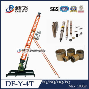 Wireline Geotechnical Drilling Rig Using Bq/Nq/Hq/Pq Tools pictures & photos