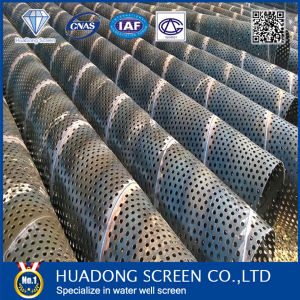 Perforated Pipes/Water Well Screens/Filter Pipes pictures & photos