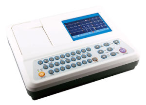 3 Channel with Color Screen ECG (Am-3303W) pictures & photos