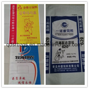 High Quality PP Woven Bag for Pig Feed with Colored pictures & photos