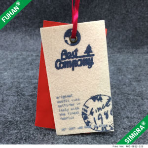 Felt Tag and Cardboard Paper Garment Hang Tag pictures & photos