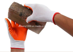 Nylon Work Glove with Superfine Foam Nitrile Dipping pictures & photos