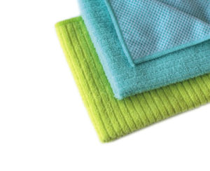 High Quality Cleaning Cloth Stripe Microfiber Cloth for Multipurpose (4014/4015) pictures & photos