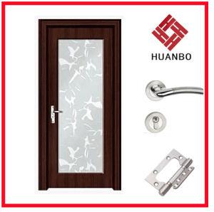 New Design MDF Composite Wooden Door for Bathroo Hb-094