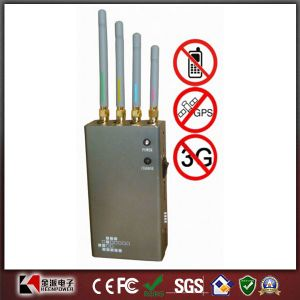 Portable GPS [3G CDMA/GSM Dcs/Phs] Signal Jammer pictures & photos