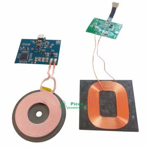 Qi PCBA DIY Wireless Charging Circuit Board Wit