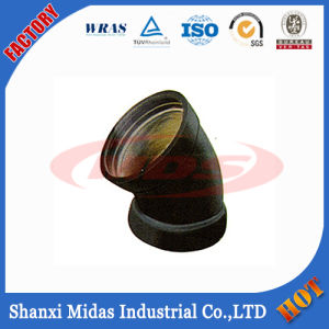 China Epoxy Coated Ductile Iron Pipe Fitting for Water Supply Project, Drainage, Sewage, Irrigation and Water Pipeline pictures & photos