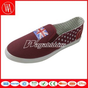 Flat Leisures Canvas Men Shoes Dressed in Dazzling