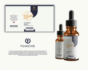 Hillton Flavor E Liquid, Vape Juicefor Electronic Cigarette 2017 Most Popular Cylinder Packaging E Liquid pictures & photos