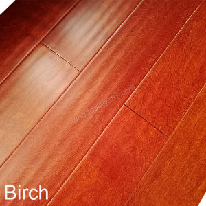 Engineered Wood Flooring Birch with Stain Color Flooring