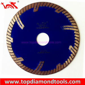 Turbo Circular Saw Blade with Side Protect Segments pictures & photos
