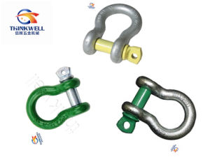 Forged G209 Painted Black Screw Pin Anchor Shackle pictures & photos