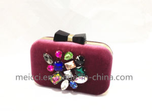 Glass Stone Eveningbag, Fashion Clutchbag pictures & photos