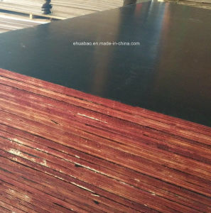 Film Faced Plywood/Shuttering Plywood/Marine Plywood for Construction (HBF006) pictures & photos